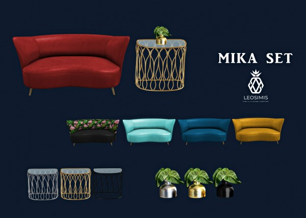Leo 4 Sims: Mika Set