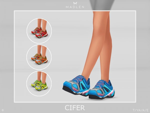 The Sims Resource: Madlen Cifer Shoes by MJ95