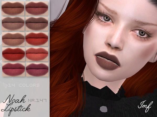 The Sims Resource: Noah Lipstick N.147 by IzzieMcFire