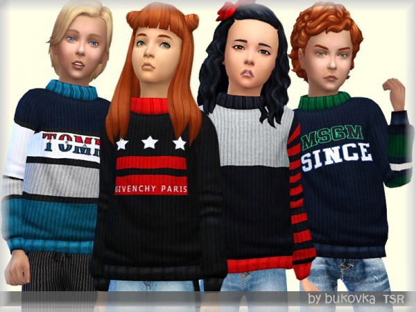 The Sims Resource: Sweater FM by bukovka