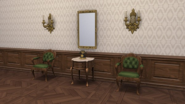 Mod The Sims: Colonial Mirror by TheJim07