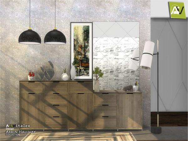 The Sims Resource: Arkin Hallway by ArtVitalex