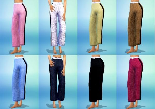Guemara: New culotte pants