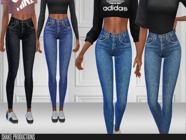 The Sims Resource: 219   Jeans by ShakeProductions