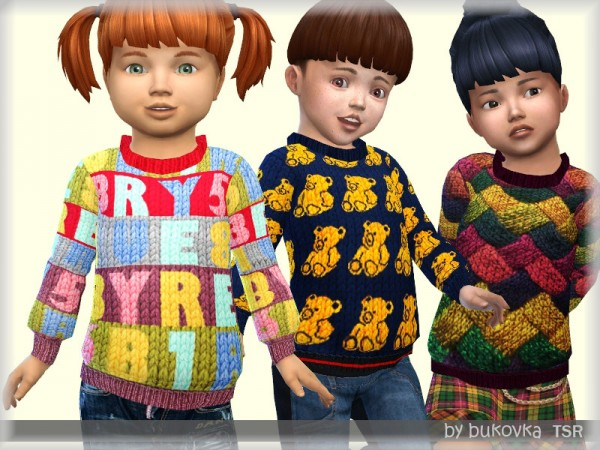 The Sims Resource: Sweater Winter by bukovka