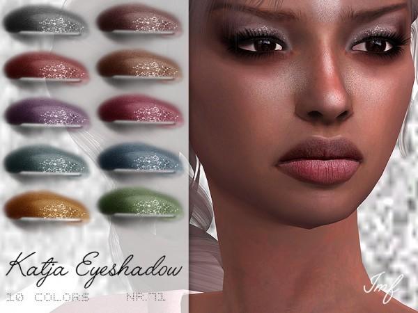 The Sims Resource: Katja Eyeshadow N.71 by IzzieMcFire