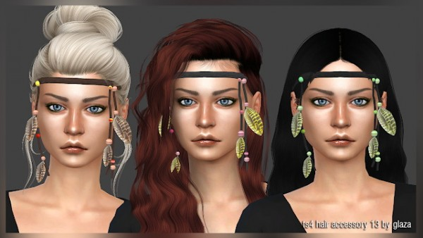 All by Glaza: Hair accessory 13