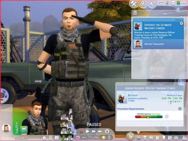 Mod The Sims Ultimate Military Career By Asiashamecca