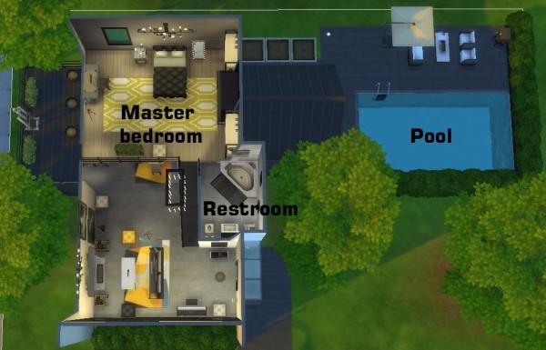 Mod The Sims: Moder Loft House (No CC) by 1sasha1