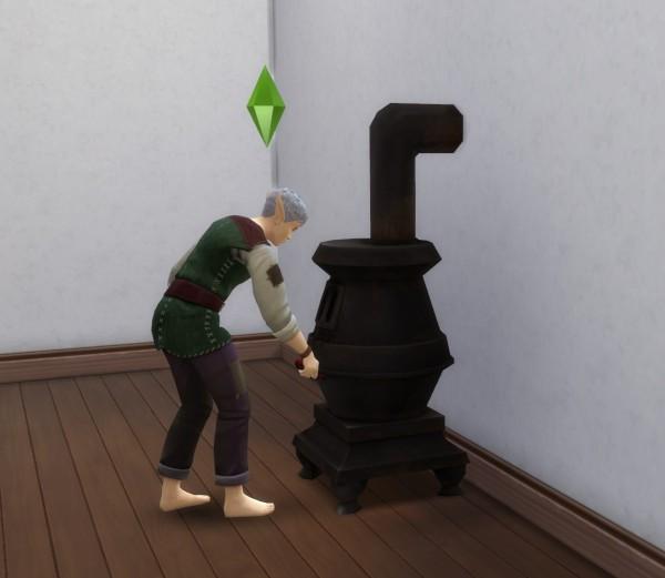 Mod The Sims: Working Cast Iron Stove  by blueshreveport