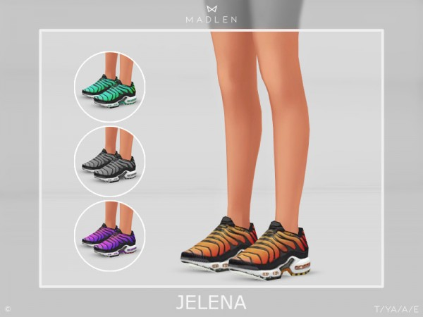 The Sims Resource: Madlen Jelena Shoes by MJ95