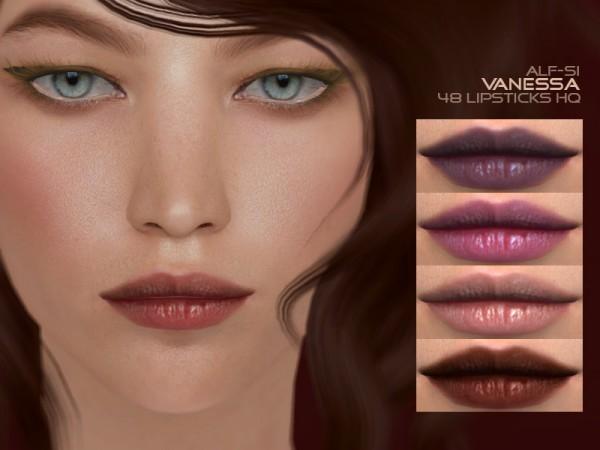 The Sims Resource: Vanessa   Lipstick 04 HQ by Alf si