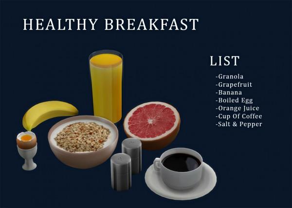 Leo 4 Sims: Healthy Breakfast