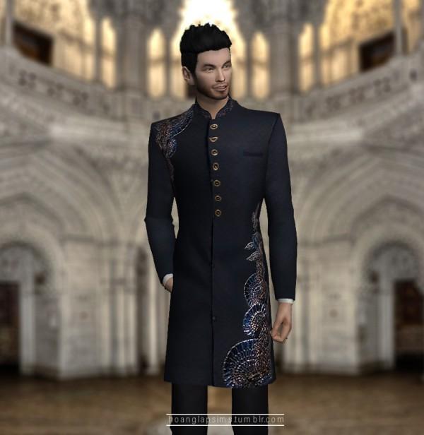 Hoanglap Sims: Indian groom coat