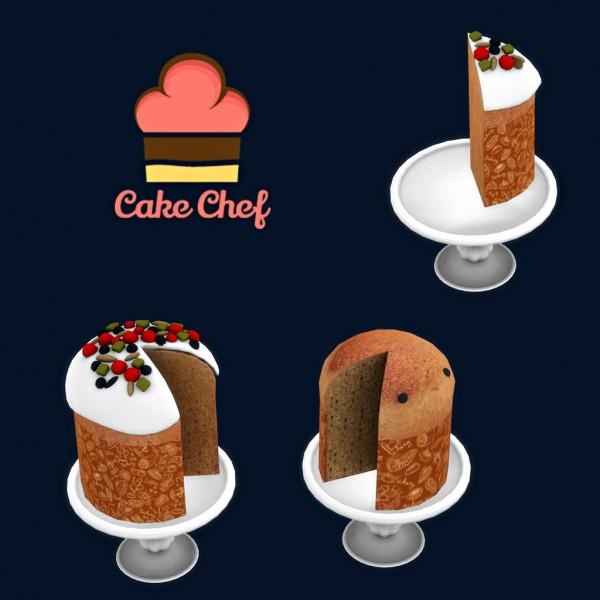 Leo 4 Sims: Cake Chef