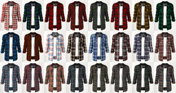 Lazyeyelids: Tartan Shirt