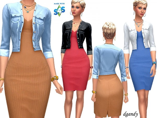 The Sims Resource: Dress   M201901 13 by dgandy
