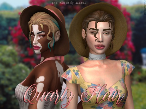 Candy Sims 4: Hair and Hat
