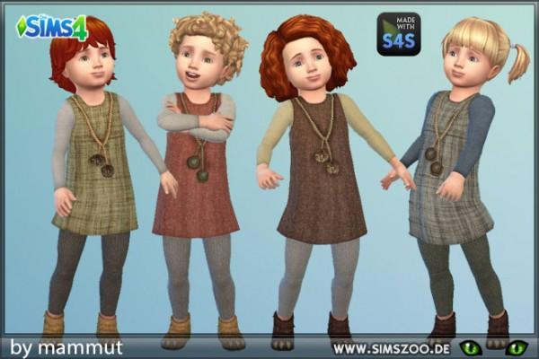 Blackys Sims 4 Zoo: Vikingoutfit 2 by mammut