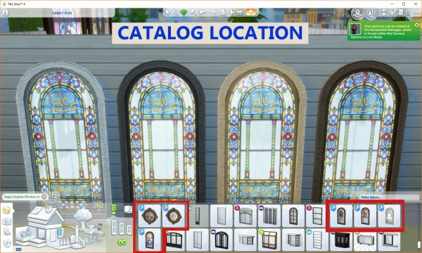 Mod The Sims: Stained Glass Windows   Religious Theme by Simmiller