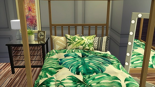 Blooming Rosy: Decorative HD Triple Bed Pillows