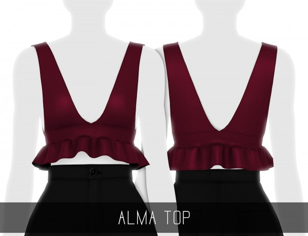 Simpliciaty: Alma Top