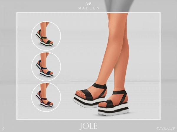 The Sims Resource: Madlen Jole Shoes by MJ95