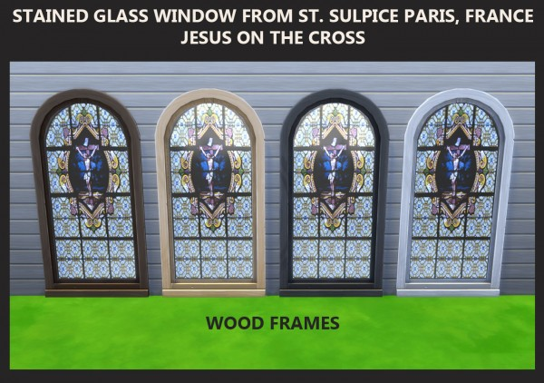 Mod The Sims Stained Glass Windows Religious Theme By