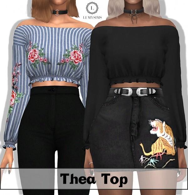LumySims: Thea Top