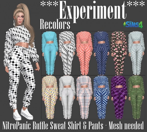 Annett`s Sims 4 Welt: Thats me too! EXPERIMENT   dresses and jumpsuit