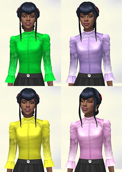 Sims Artists: Victorine Top