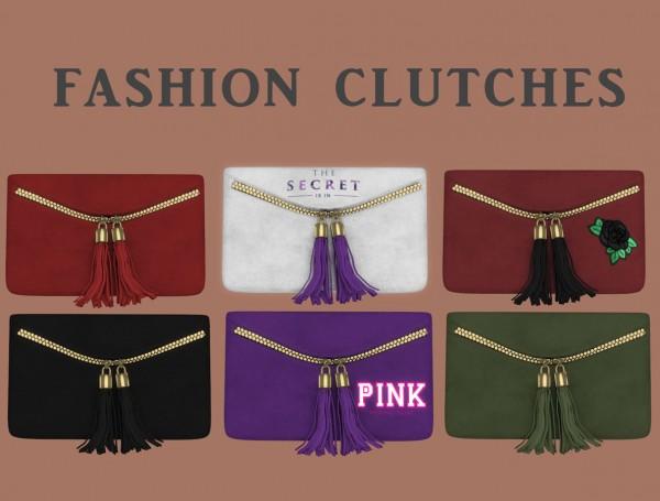 Leo 4 Sims: Fashion Clutches