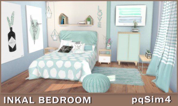 PQSims4: Inkal Bedroom