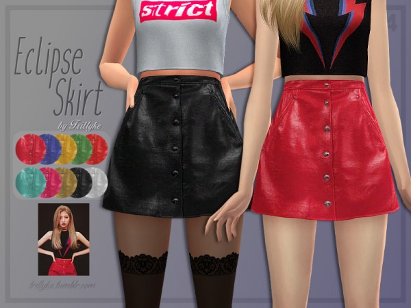 The Sims Resource: Eclipse Skirt by Trillyke