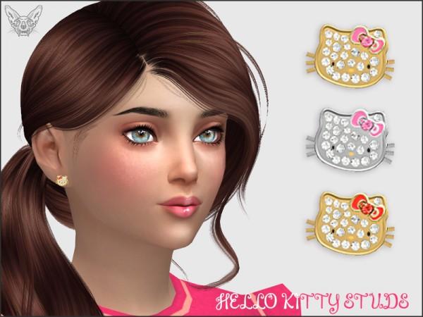 Giulietta Sims: Hello Kitty Studs For Kids