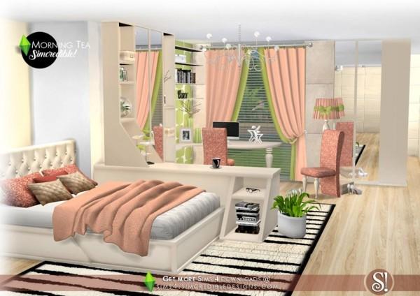SIMcredible Designs: Morning Tea Bedroom