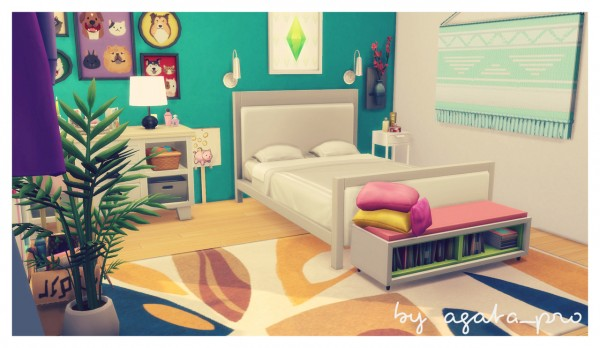 Agathea k: Pastel Bedroom