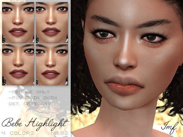 The Sims Resource: Bebe Highlight N.02 by IzzieMcFire