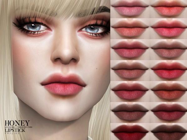The Sims Resource: Honey Lipstick N181 by Pralinesims
