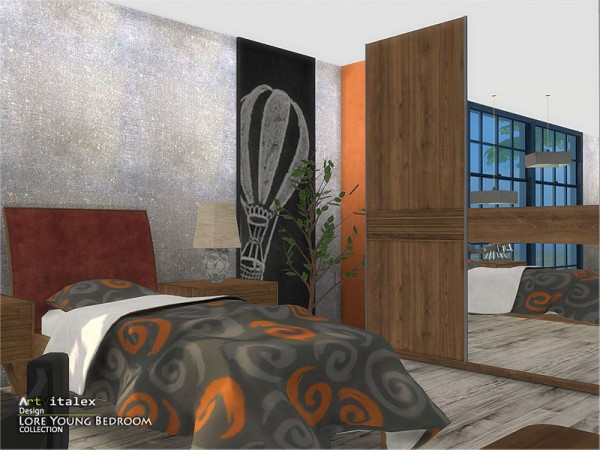 The Sims Resource: Lore Young Bedroom by ArtVitalex