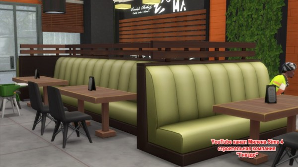 Sims 3 by Mulena: Starbucks Cafe