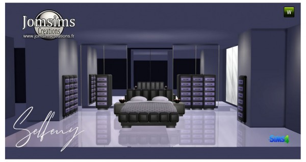 Jom Sims Creations: Selfeny bedroom