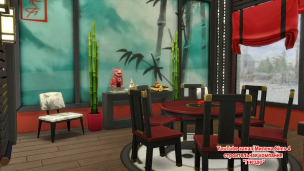 Sims 3 by Mulena: Room Moonlit Dining Room