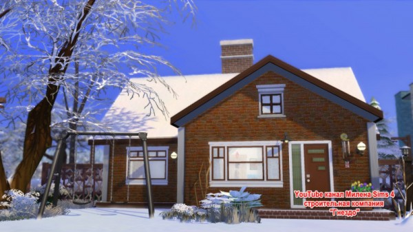 Sims 3 by Mulena: House TC036