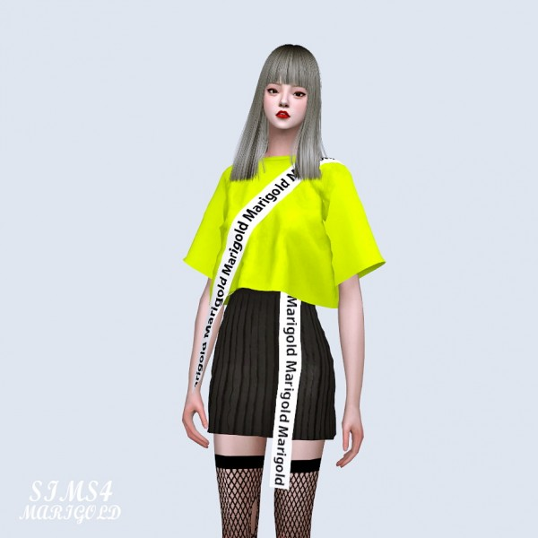 SIMS4 Marigold: Line T shirts