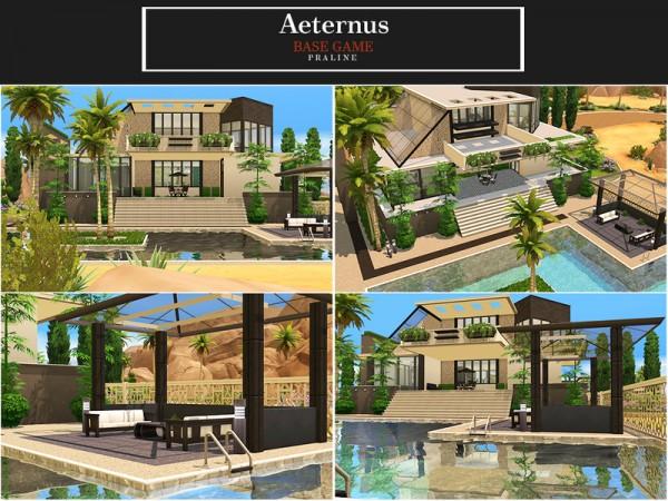 The Sims Resource: Aeternus house by Pralinesims