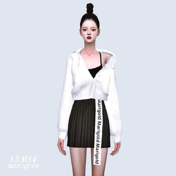 SIMS4 Marigold: Natural Hood Jacket