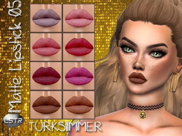 The Sims Resource: Matte Lipstick 05 by turksimmer