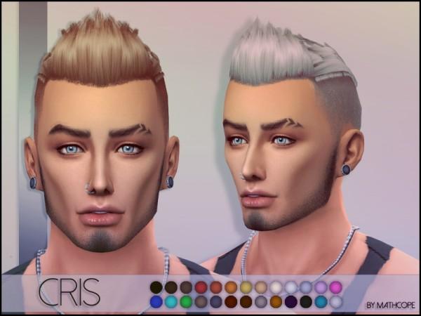 Sims Studio: Chris Hair by mathcope