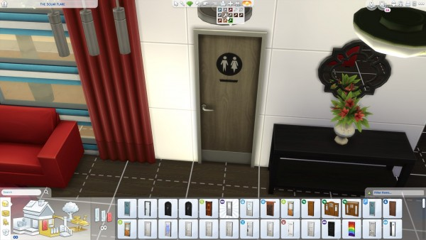 Mod The Sims: Gender Neutral Door Recolour by chibievil